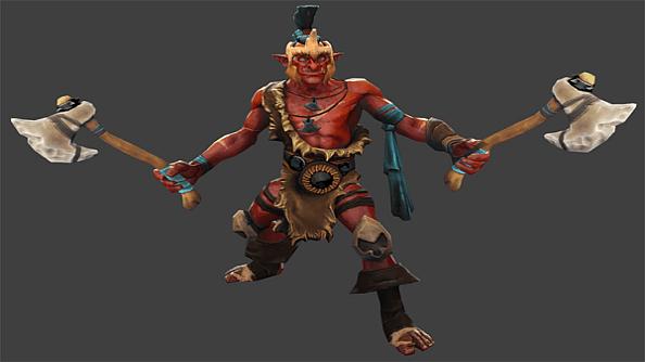 Troll Warlord - сильнейший персонаж дота 2