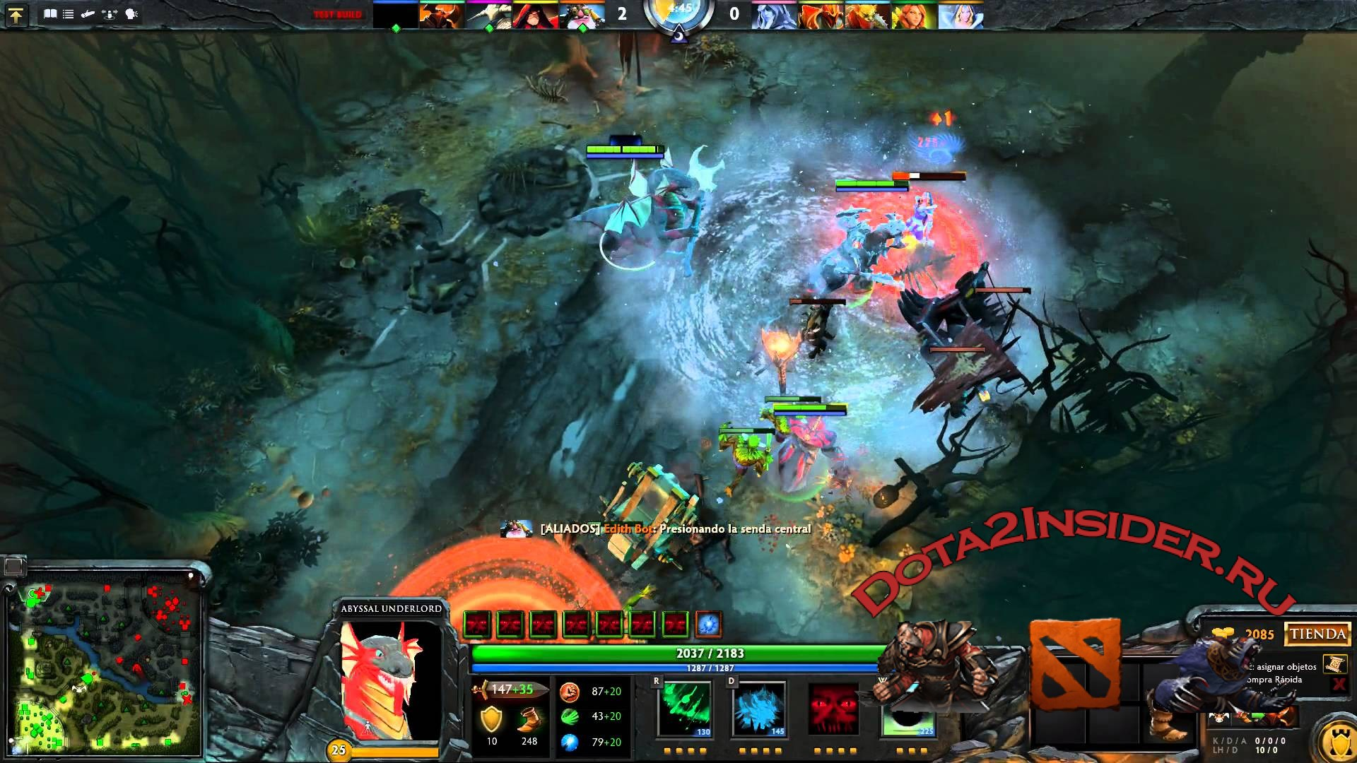 abyssal underlord dota 2 2016