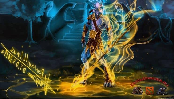 Phantom Lancer в Dota 2: способности и таланты патч 7.25